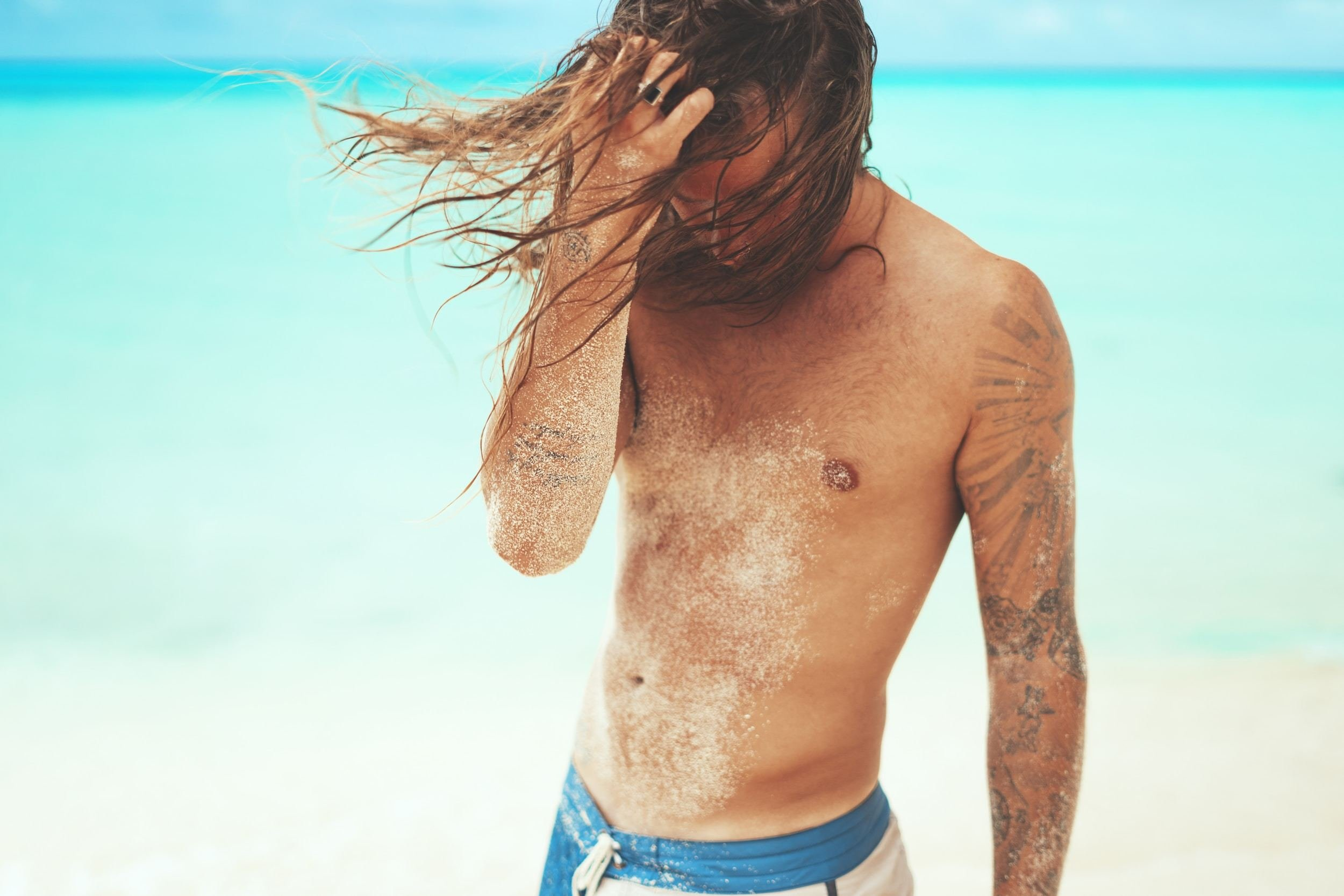 What do people think of long hair on men?