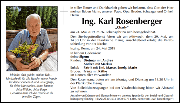 Karl Rosenberger