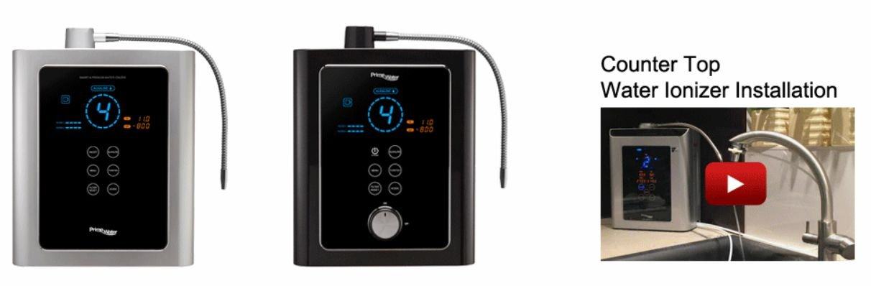 Alkaline Water Ionizer - Prime Water Installation Video