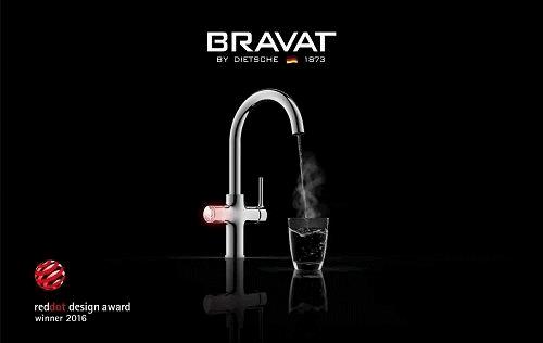 Red dot design award winner 2016 - Bravat Equatre