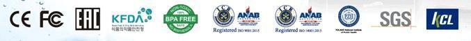 Alkaline Water Ionizer Certifications
