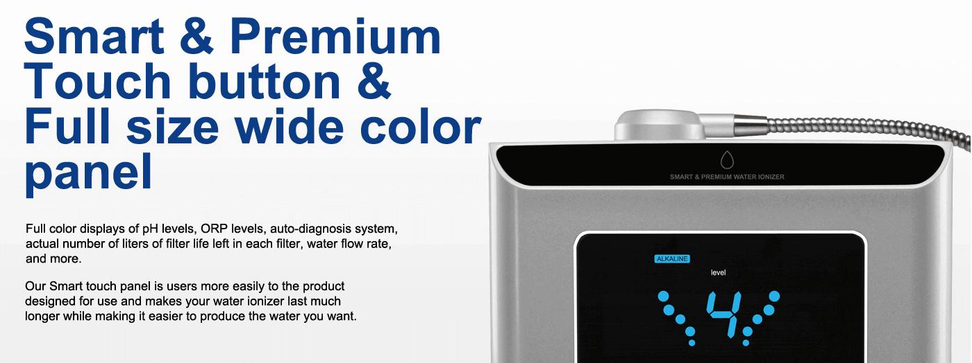 Alkaline Water Ionizer with Smart touch