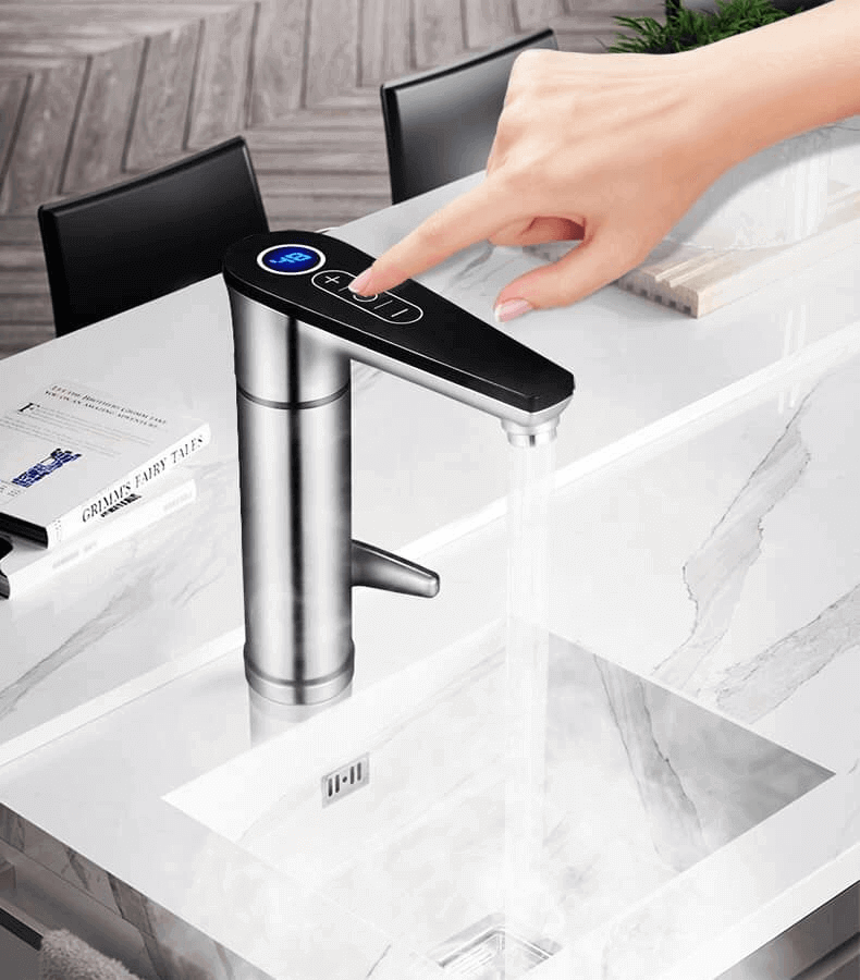 Electric Tap with smart touch functions: On/Off and more