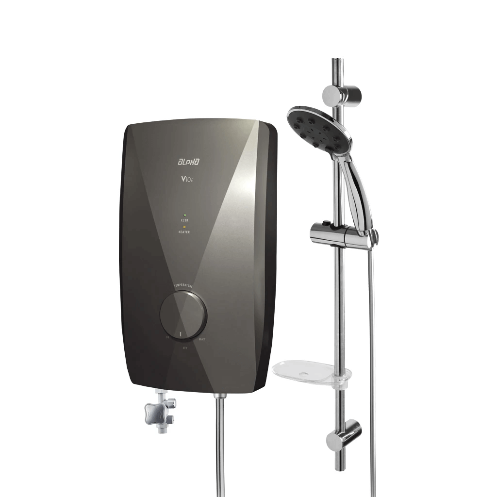 Walkaline India - V10i Shower Water Heater - Olive Color