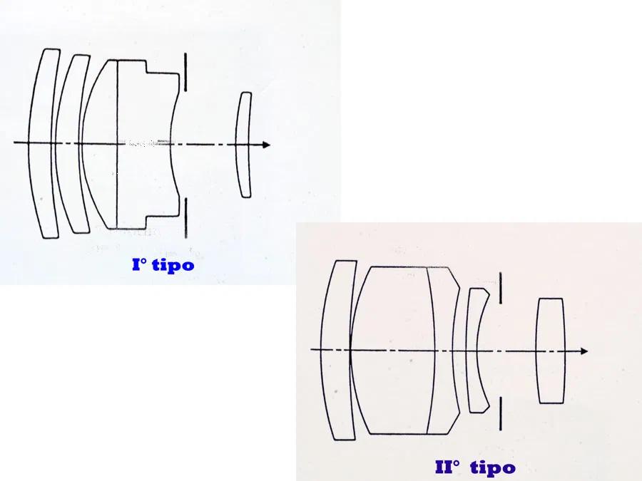 Risultati immagini per elmarit 135 schema ottico