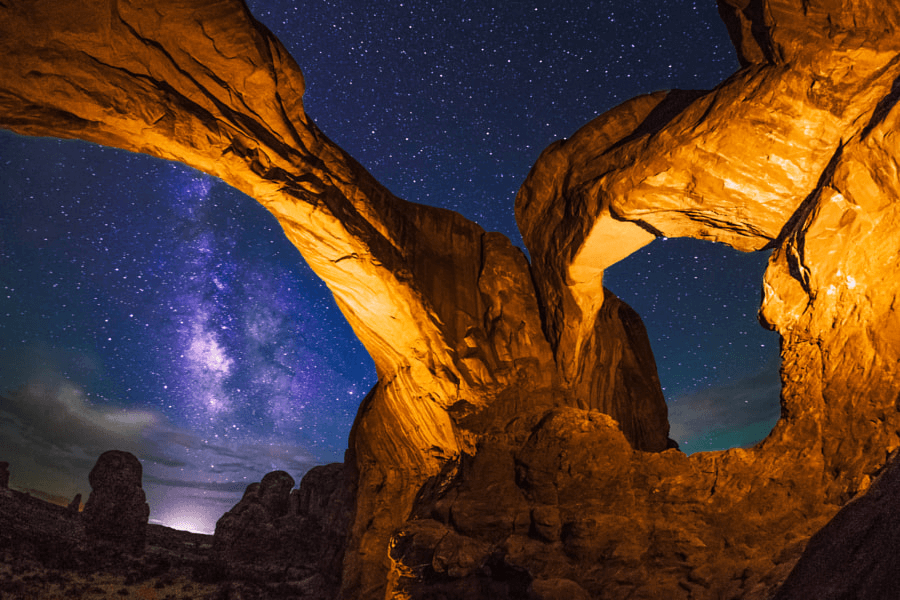 Double Arch by Wayne Pinkston on 500px.com