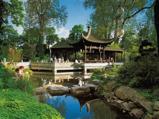 بيثمان بارك من اجمل حدائق فرانكفورت المانيا