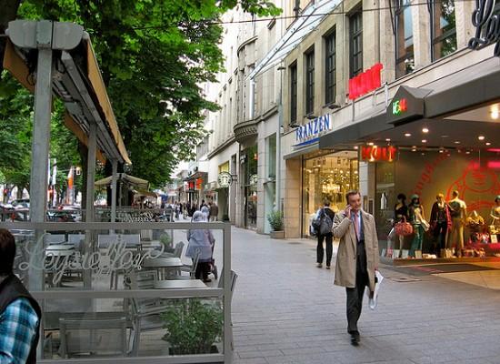 شارع الملوك من اهم اماكن السياحة في دوسلدورف