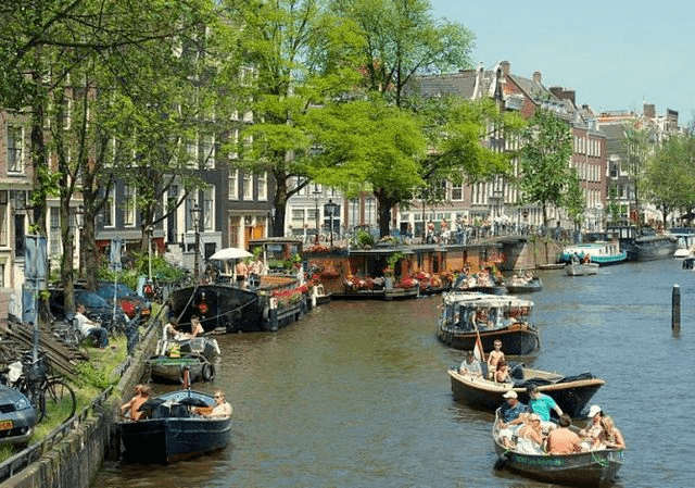 حي جوردان من افضل اماكن سياحية في امستردام هولندا - صور امستردام