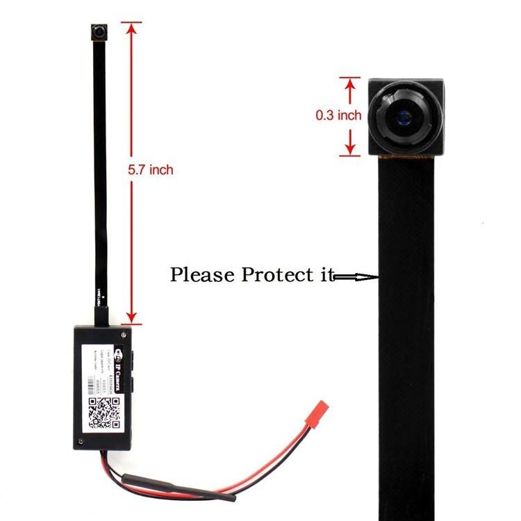 Mini Wireless WIFI Spy Hidden Camera - 8