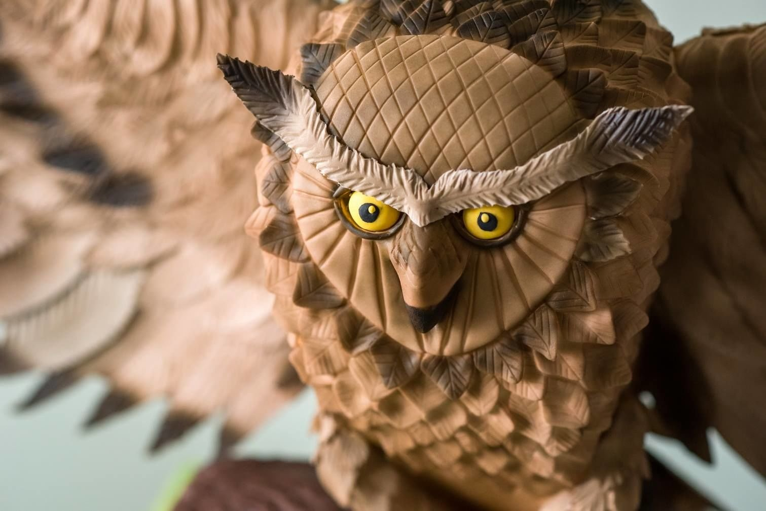 τουρτα απο ζαχαροπαστα (The Owl) Χρυσό Βραβείο στο Πανελλήνιο Διαγωνισμό Expotrof 2017, ζαχαροπλαστείο καλαμάτα madamecharlotte.gr, birthday cakes 2d 3d confectionery patisserie kalamata