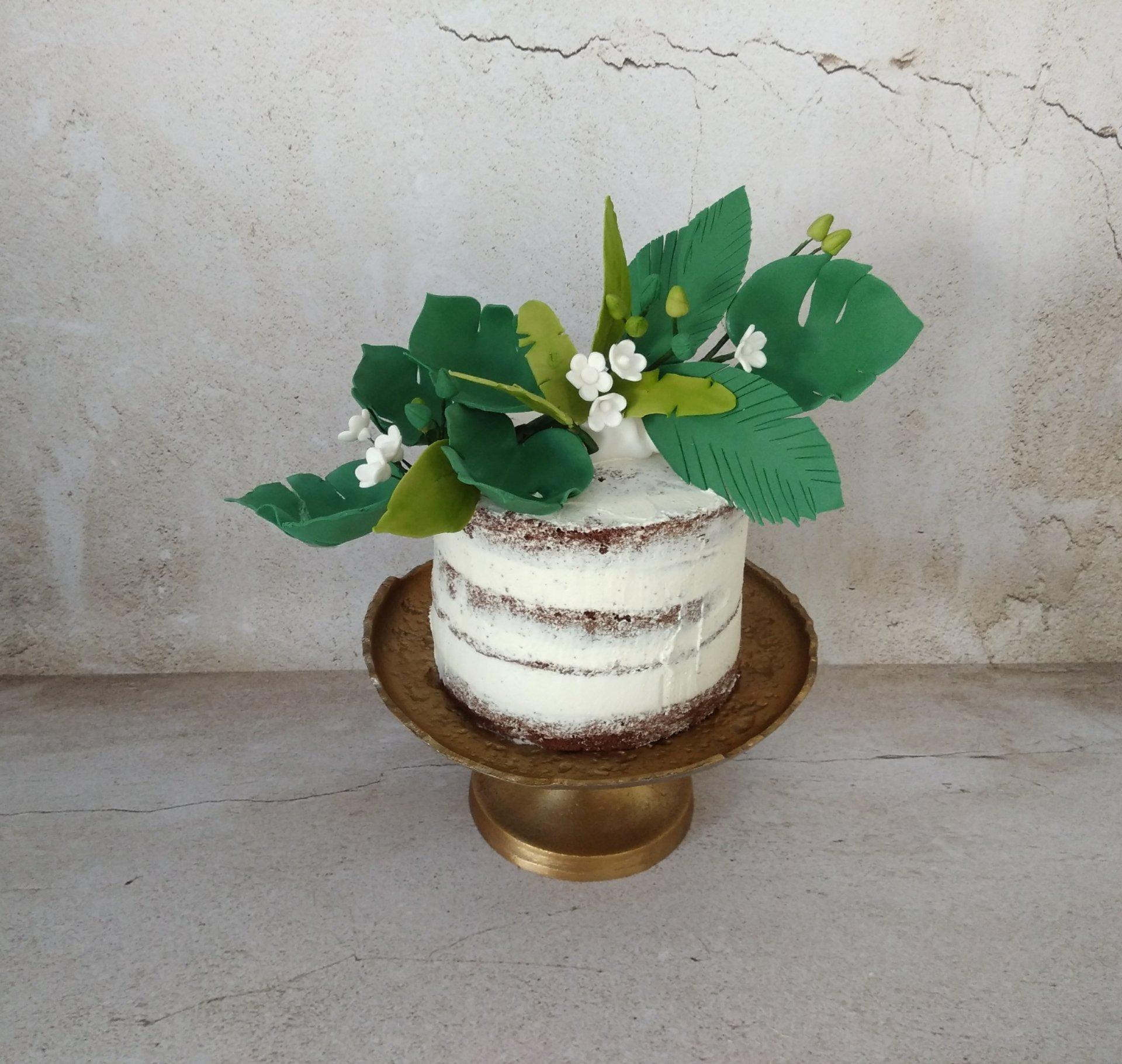 τούρτα γάμου χωρίς ζαχαρόπαστα ζουκγλα εξωτικα ανθη λουλουδια μπουμπουκια jungle γλυκά μπουφέ γάμου, ζαχαροπλαστείο καλαμάτα, madame charlotte, wedding cakes kalamata