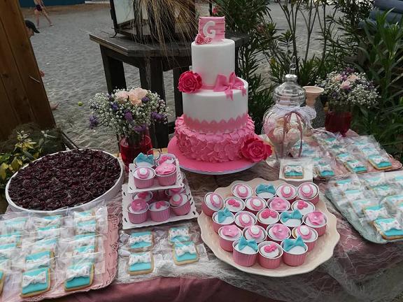 μπουφέ γλυκών βάπτισης Ζαχαροπλαστειο καλαματα madame charlotte, birthday baptism cakes kalamata