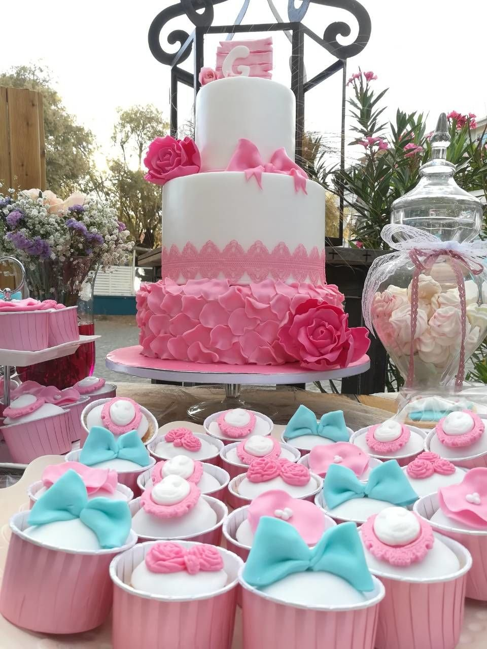 διακόσμιση μπουφέ βάπτισης Ζαχαροπλαστειο καλαματα madame charlotte, birthday cakes kalamata
