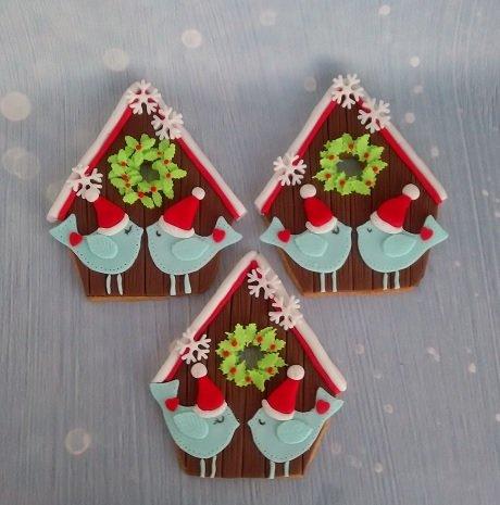 χριστουγεννιάτικα μπισκότα birds, Ζαχαροπλαστείο καλαμάτα madame charlotte, σοκολατάκια πάστες γλυκά τούρτες γεννεθλίων γάμου βάπτισης παιδικές θεματικές birthday theme party cake 2d 3d confectionery patisserie kalamata