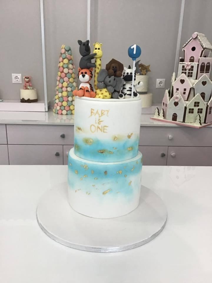 τούρτα από ζαχαρόπαστα amimals ζωάκια της ζούγκλας, Ζαχαροπλαστείο καλαμάτα madame charlotte, τουρτες παρτι παιδικες γενεθλίων για αγόρια για κορίτσια για μεγάλους madamecharlotte.gr birthday cakes patisserie confectionery kalamata