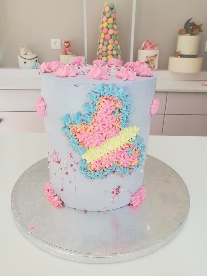 τούρτα από ζαχαρόπαστα πεταλούδα theme cake butterfly, Ζαχαροπλαστεία στη καλαμάτα madame charlotte, τούρτες γεννεθλίων γάμου βάπτησης παιδικές θεματικές birthday theme party cake 2d 3d confectionery patisserie kalamata