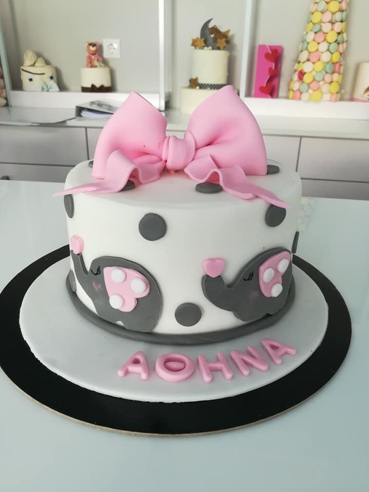 τούρτα από ζαχαρόπαστα ελεφαντάκια θεματική τούρτα, little baby elephants themed cake, Ζαχαροπλαστείο Καλαμάτα madame charlotte, τούρτες για πάρτι παιδικές γενεθλίων για αγόρια για κορίτσια για μεγάλους madamecharlotte.gr birthday themed cakes patisserie confectionery kalamata