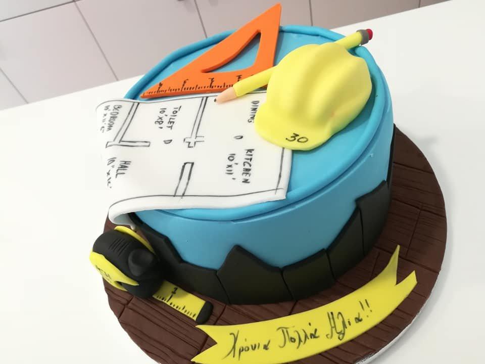 τούρτα από ζαχαρόπαστα μηχανικός, techician mechanic  themed cake, Ζαχαροπλαστεία στη Καλαμάτα madame charlotte, τούρτες γεννεθλίων γάμου βάπτησης παιδικές θεματικές birthday theme party cake 2d 3d confectionery patisserie kalamata