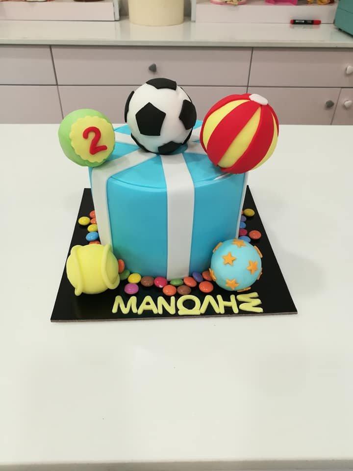 τούρτα από ζαχαρόπαστα sports themed cake, Ζαχαροπλαστεία στη Καλαμάτα madame charlotte, τούρτες γεννεθλίων γάμου βάπτησης παιδικές θεματικές birthday theme party cake 2d 3d confectionery patisserie kalamata