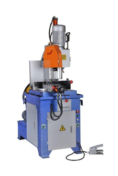 hydraulic semiautomatic pipe cutting machine