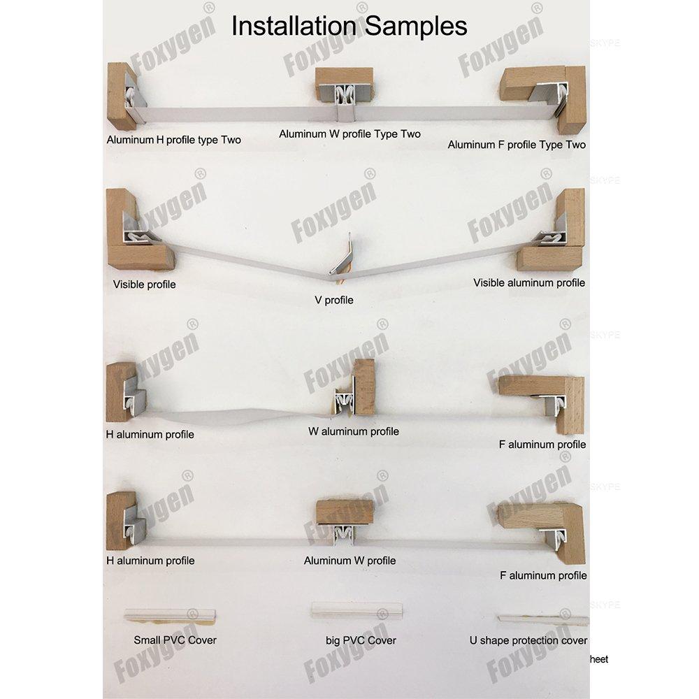 250M per roll plastic buckle strip for pvc stretch ceiling film pvc harpoon