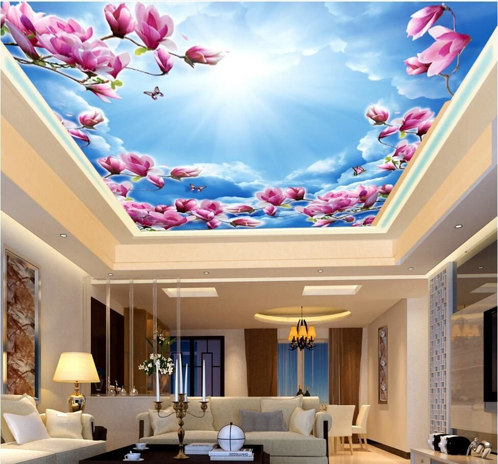 Where is the most application of uv print pvc streth ceiling film?