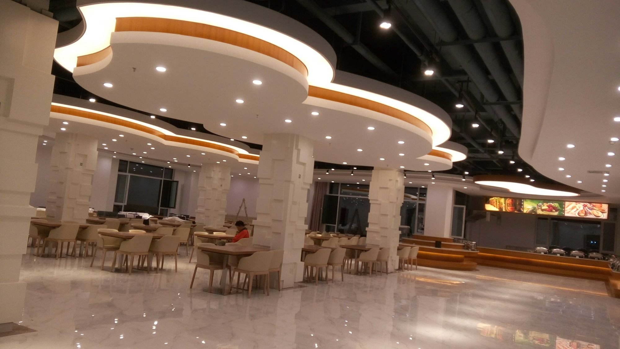 The Excellent performance of uv print pvc stretch ceiling film Foxygen