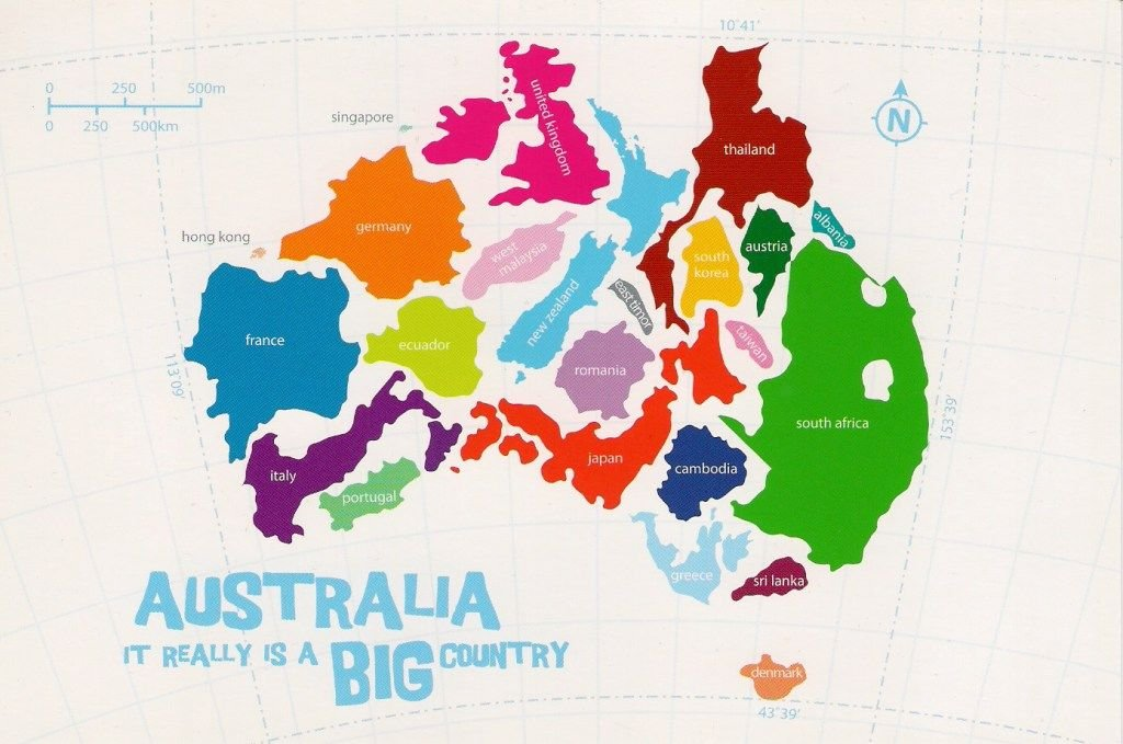 Australia travel tips: Australia it really is a big country
