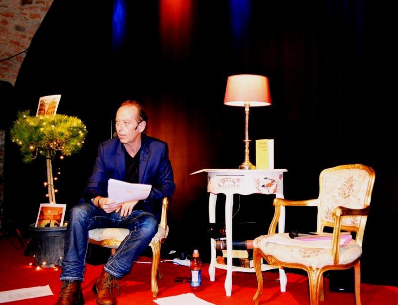 Sir Kristian Goldmund Aumann Intendant Das Lesefestival 2019 Foto: Kunst verbindet Menschen