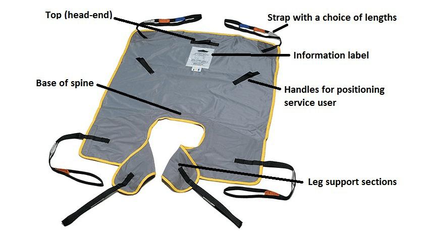 Image of a universal split-leg sling