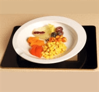 Slip resistant bowls & plates