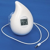 Image of a water temperature indicator
