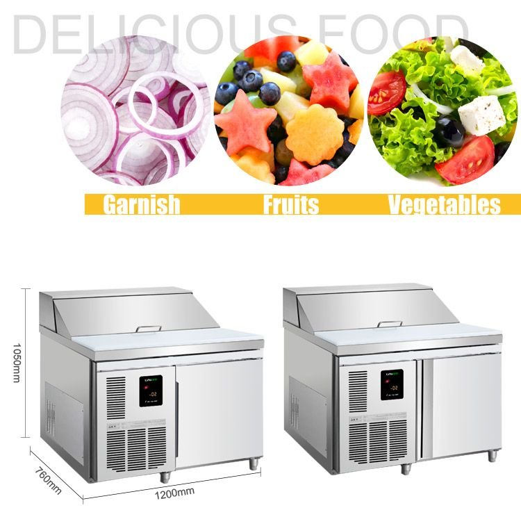 Commercial refrigerator, Salad fridge