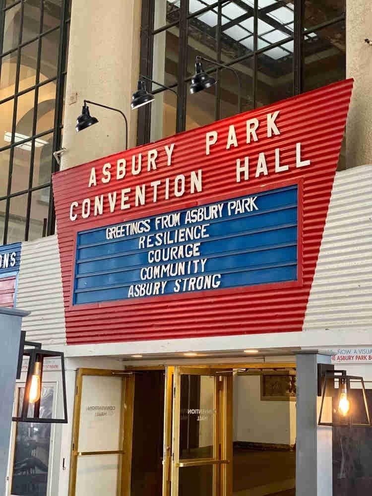 Inside Asbury Park Convention Hall
