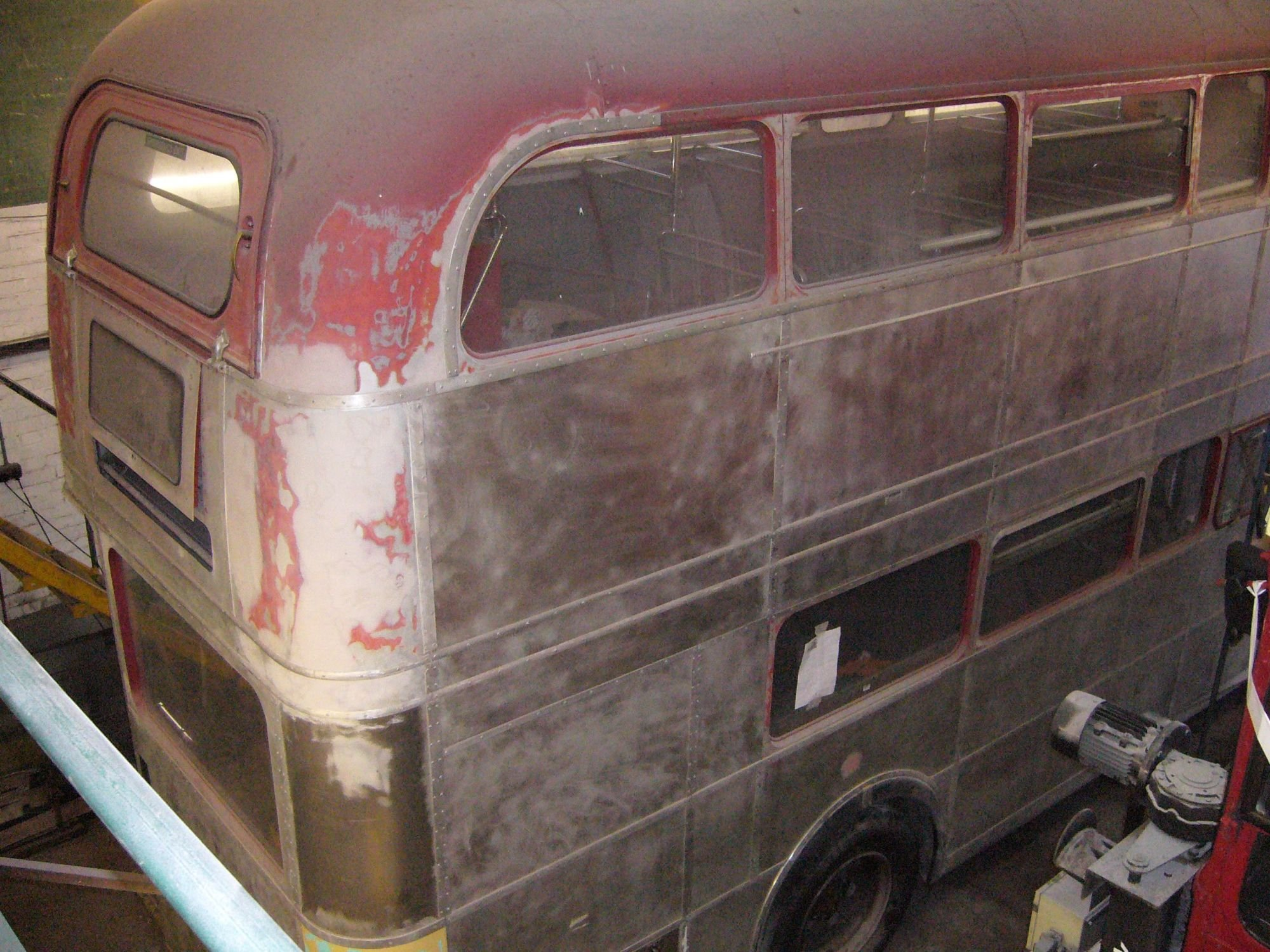 Routemaster Restoration in progress