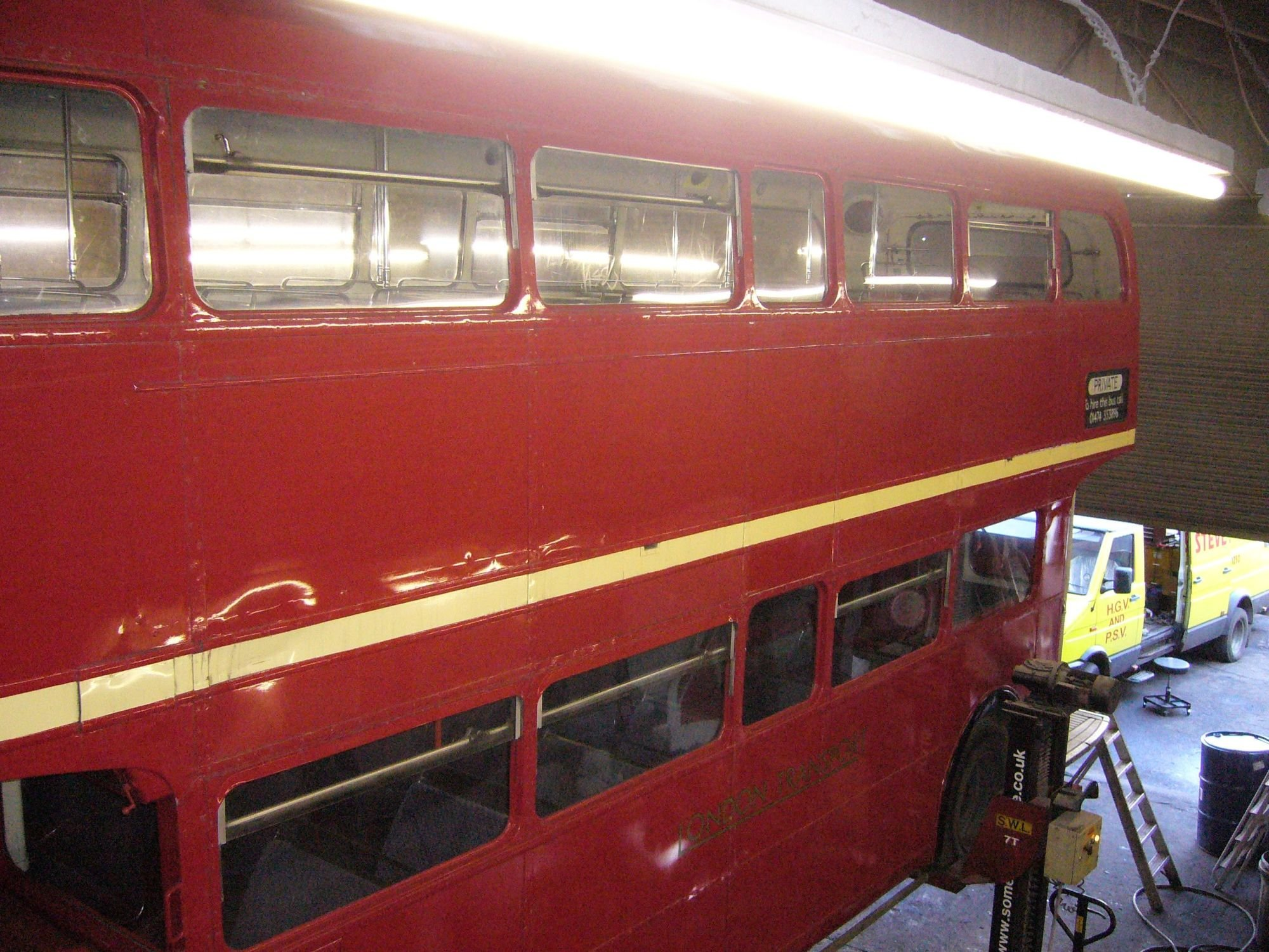 Routemaster restoration nearly finished