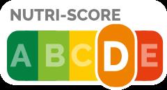 NutriScore nutrition grade D