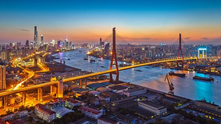 Rooftop-ville-Shanghai