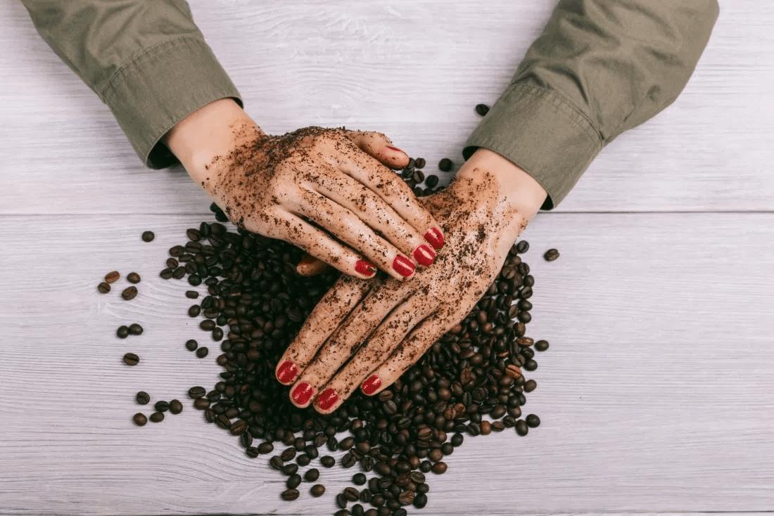 coffee for skin exfoliation