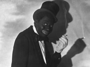 Bert Williams in blackface