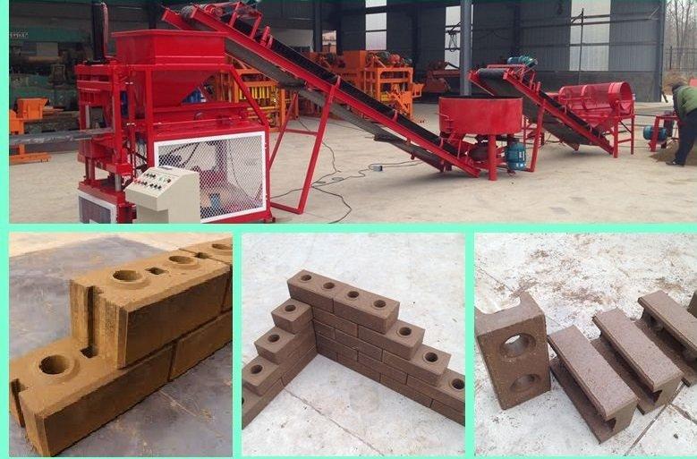 machines de fabrication de briques en terre cuite