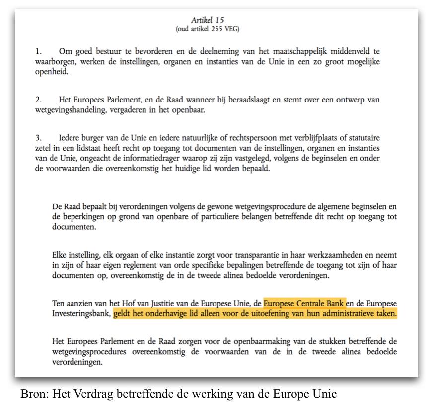 Verdrag van Lissabon Artikel 15