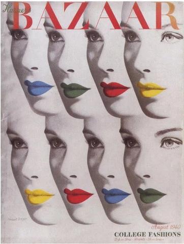 Andy Warhol inspiration Herbert Bayer's Lips