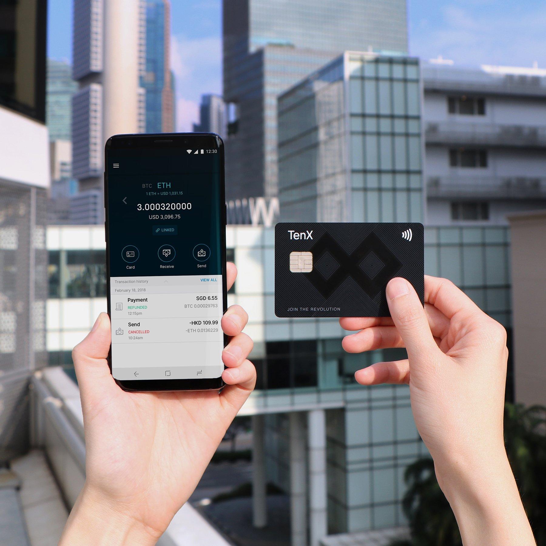 TenX Review: TenX Wallet & TenX Card