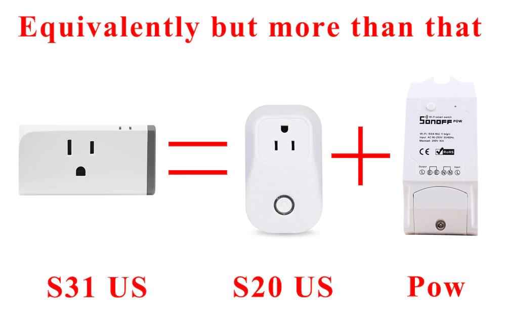 sonoff, sonoff plug, smart wifi socket