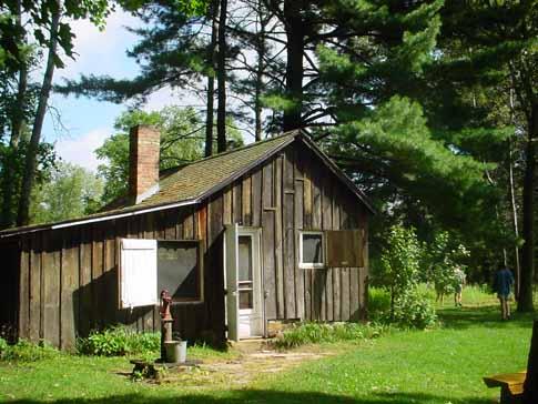 Almanach d'un comté des sables : la cabane