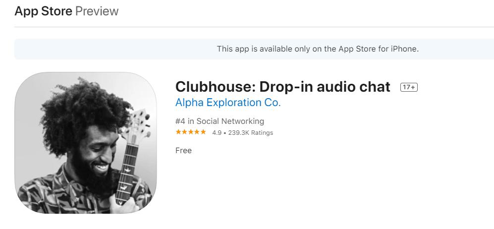 Clubhouse il social del momento