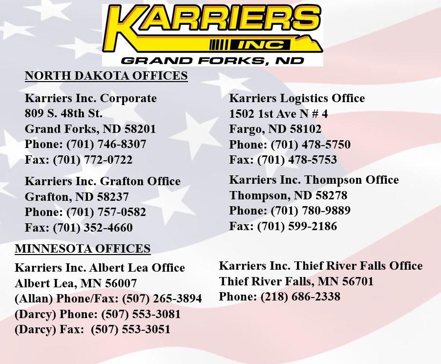 Karriers Inc Office Locator