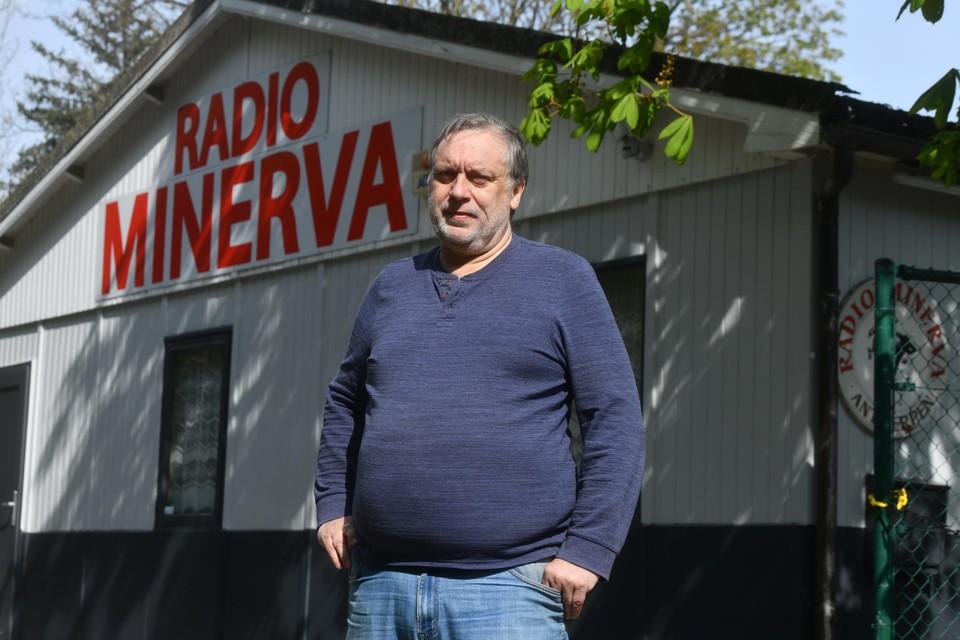 Frank Boekhoff, voorzitter van Radio Minerva, heeft gemengde gevoelens.
